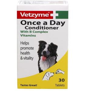Vetzyme Once A Day Conditioning Tablets for Dog