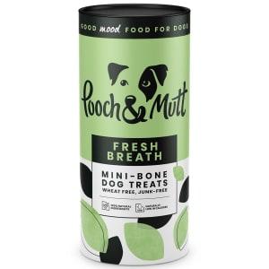 Pooch & Mutt Fresh Breath Mini Bone Dog Treats