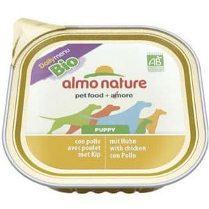 Almo Nature Bio Pate voor puppy's