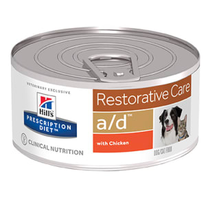 Hills Prescription Diet – Canine/Feline a/d (24x156g)