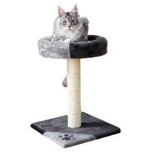 Trixie Tarifa Cat Scratching Post in Grey & Black