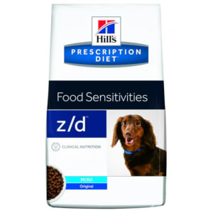 Hill's Prescription Diet z/d mini nouriture pour chiens