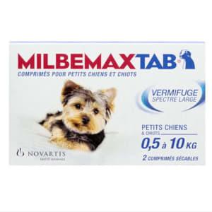 Milbemax Comprimés pour Chiens et Chiots (0.5-10kg)