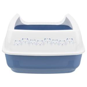 Bac à litière avec bordure Delio Trixie pour chats