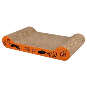 Trixie Wild Cat Scratching Board in Orange