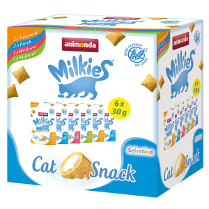 Animonda Milkies 6er Multipack Katzensnack