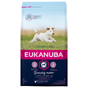 Eukanuba Growing Puppy Small Breed Dry Dog Food - Chicken