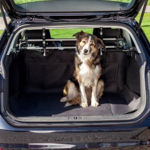 Trixie Waterproof Dog Car Boot Cover in Black