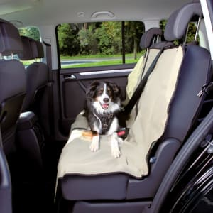 Trixie Dog Car Seat Cover Protector in Beige