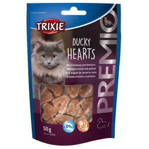 Trixie PREMIO Eendenhartjes voor katten