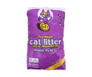 CJs Wood Pellet Cat Litter