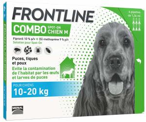 Frontline Combo pour Moyen Chien (10-20kg)