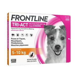 Frontline Tri Act pour Petit Chien (5-10kg)