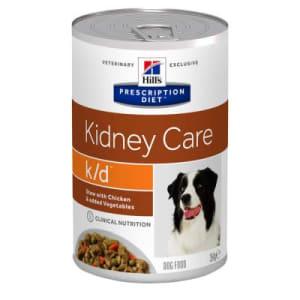 Pâtée Hill's Prescription Diet k/d Kidney Care au poulet nouriture pour chiens