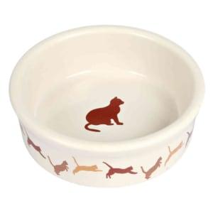 Trixie Keramik Katzenschale mit Motiv