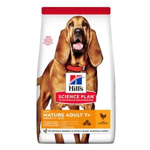 Hill's Science Plan Light Medium Mature Adult 7+ Dry Dog Food - Chicken
