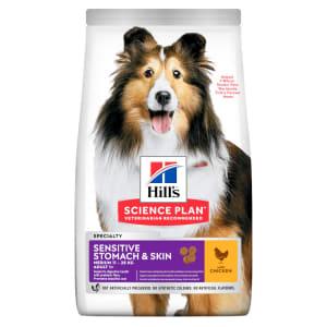 Hill's Science Plan Canine Medium Adult Sensitive Stomach & Skin Huhn