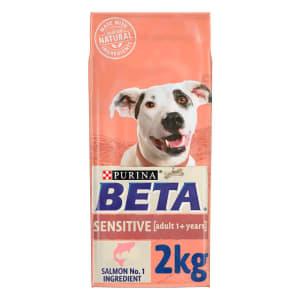 BETA Sensitive Adult Dry Dog Food - Salmon & Rice
