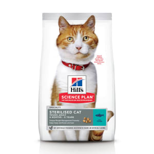 Hill's Science Plan Feline Young Adult Sterilised Cat Thunfisch