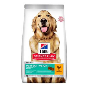 Hill's Science Plan Perfect Weight Large Adult 1+ Dry Dog Food - Chicken