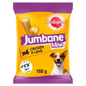 Pedigree Jumbones Mini Adult Dog Treats - Chicken & Lamb