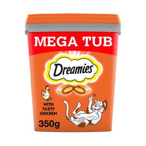 Dreamies Cat Treats Mega Tub - Chicken