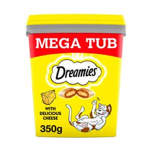 Dreamies Cat Treats Mega Tub - Cheese