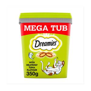 Dreamies Cat Treats Mega Tub - Tuna