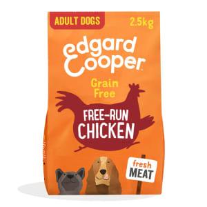 Edgard & Cooper Fresh Free Run Grain Free Adult Dry Dog Food - Chicken
