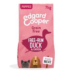 Edgard & Cooper Fresh Free Run Grain Free Puppy Dry Dog Food - Duck & Chicken