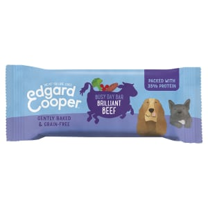Edgard & Cooper Grain Free Busy Day Bar Dog Treats - Beef