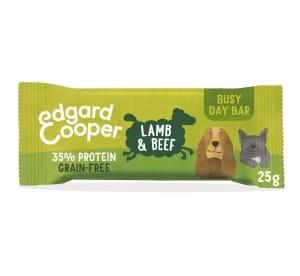 Edgard & Cooper Grain Free Busy Day Bar Dog Treats - Lamb & Beef