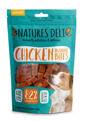 Natures Deli Training Bites Adult Dog Treats - Chicken