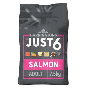 Harringtons Just 6 Adult Dry Dog Food - Salmon & Vegetables