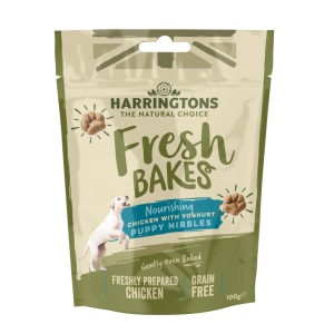 Harringtons Fresh Bakes Puppy Nibbles Dog Treats - Chicken with Yogurt