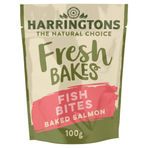 Harringtons Fresh Bakes Fish Bites Dog Treats - Baked Salmon
