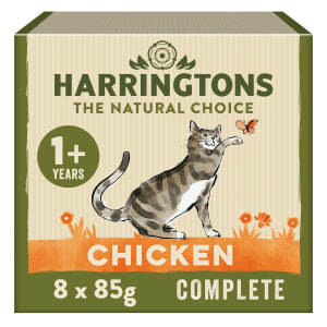 Harringtons Complete Adult Cat Wet Food - Chicken in Gravy