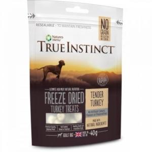 True Instinct Freeze Dried Adult Dog Treats - Tender Turkey