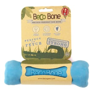 Beco Pets Bone Dog Toy in Blue