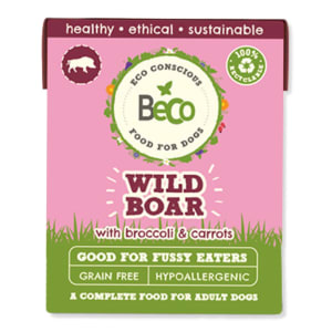 Beco Pets Eco-Conscious Adult Wet Dog Food - Wild Boar with Broccoli & Carrots