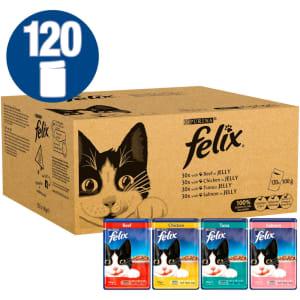 Felix Cat Food Meat And Fish