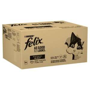Felix As Good As It Looks Meat And Fish Cat Food