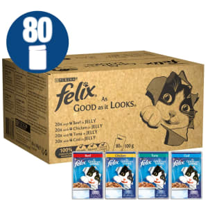 Felix Cat Food Fish And Poultry