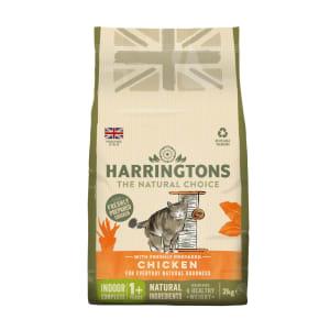 Harringtons Complete Indoor Adult/Kitten Dry Cat Food - Fresh Chicken