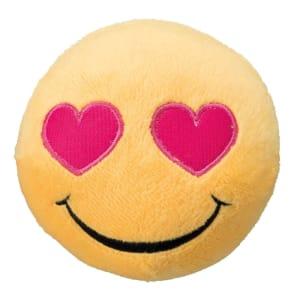 Trixie Dog Toy Smiley Heart Eyes Plush Dog Toy with Sound