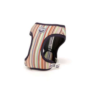 Hugo & Hudson Multicoloured Striped Dog Harness