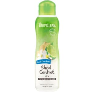 TropiClean Shed Control Pet Conditioner - Lime & Cocoa Butter