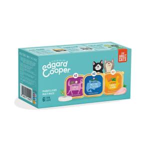 Edgard & Cooper Natural Adult Grain Free Wet Cat Food - Multipack