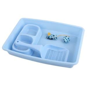 Pawise Kitty Starter Kit in Blue