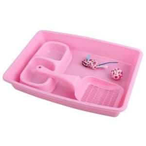 Pawise Kitty Starter Kit in Pink